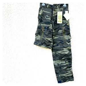 Pants - Women's high rise camo outdoor convertible pants